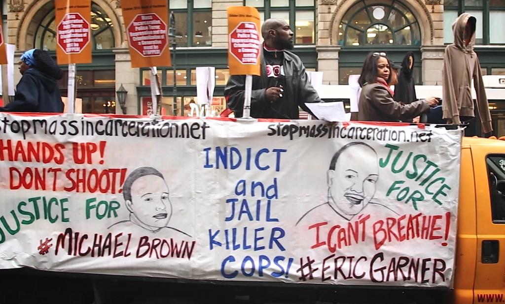 Justice for Eric Garner Banner