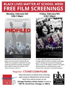 Chicago teachers screening Feb 5th